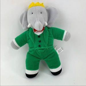 Barbar Elephant Stuffed Animal Plush